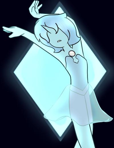  Steven Universe Blue Pearl by SleepyInu