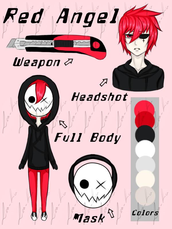 Creepypasta Oc: Red Angel by Lea-Lu on DeviantArt