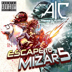 COMM: Escape to Mizar 5 CD cover