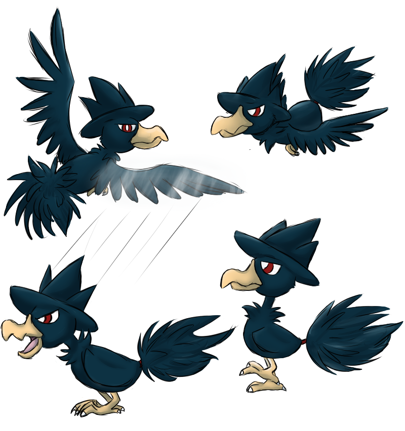 how to catch murkrow in pokemon y