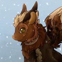 COM Fluffy Dragon Baby by Amiookamiwolf