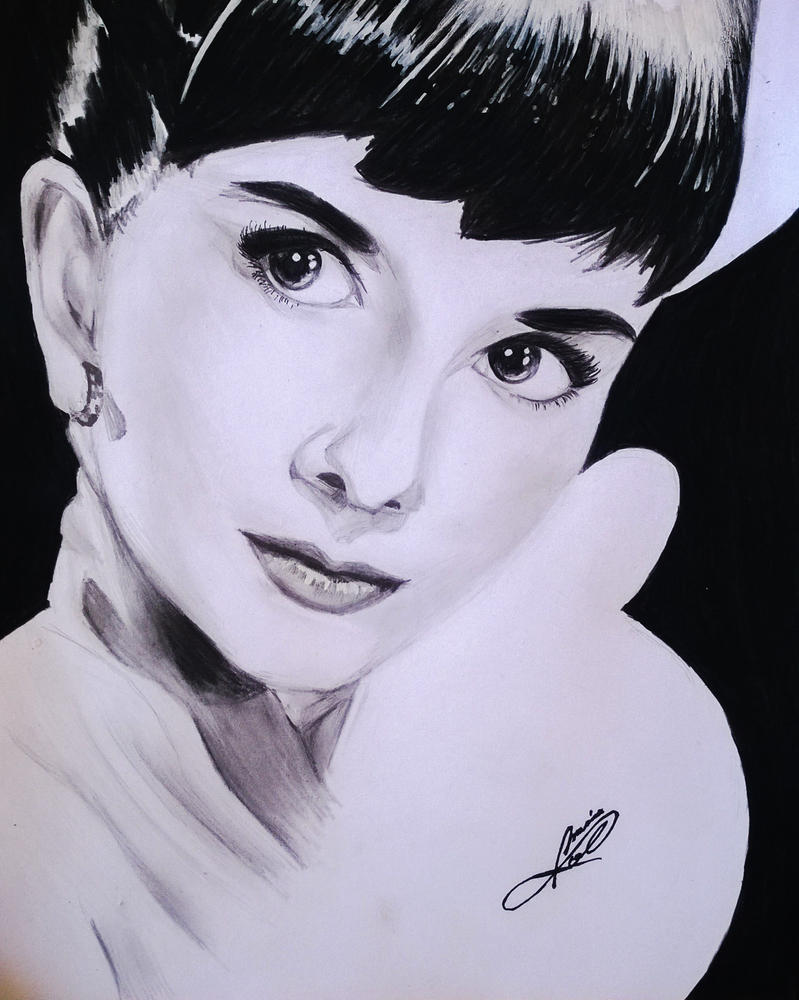 Audrey Hepburn by JaiGuruSun