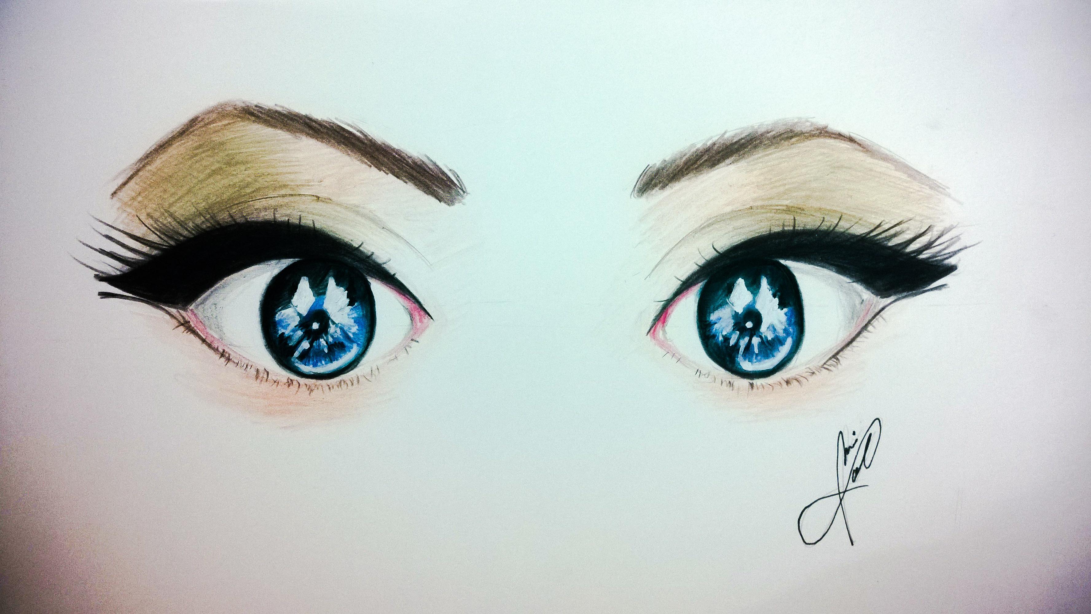 Ojos azules by JaiGuruSun