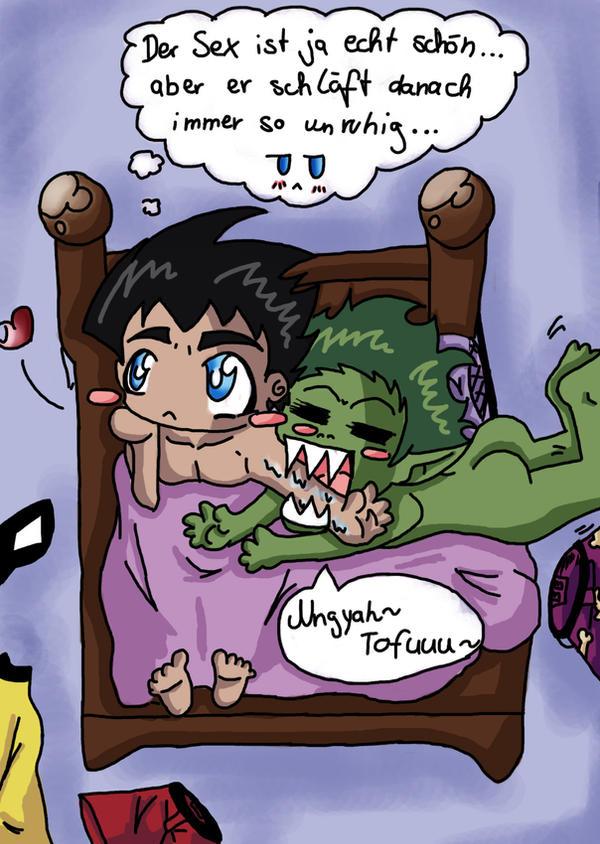 Titans fanfic teen