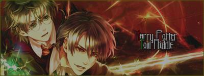 Harry Potter x Tom Riddle by NeoLoki-Kun