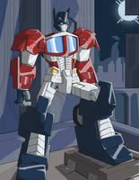 Optimus Prime by Atticustm1