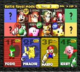 SSB64 BETA character select screen by TheRedThunder360 on ...