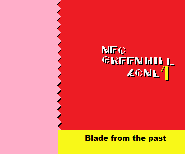 Neo Green Hill Zone Blade 2 by TheRedThunder360