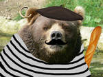Hilarious french bear