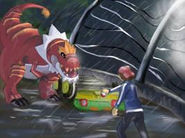 Pokemon meets Jurassic Park by Windwolf667