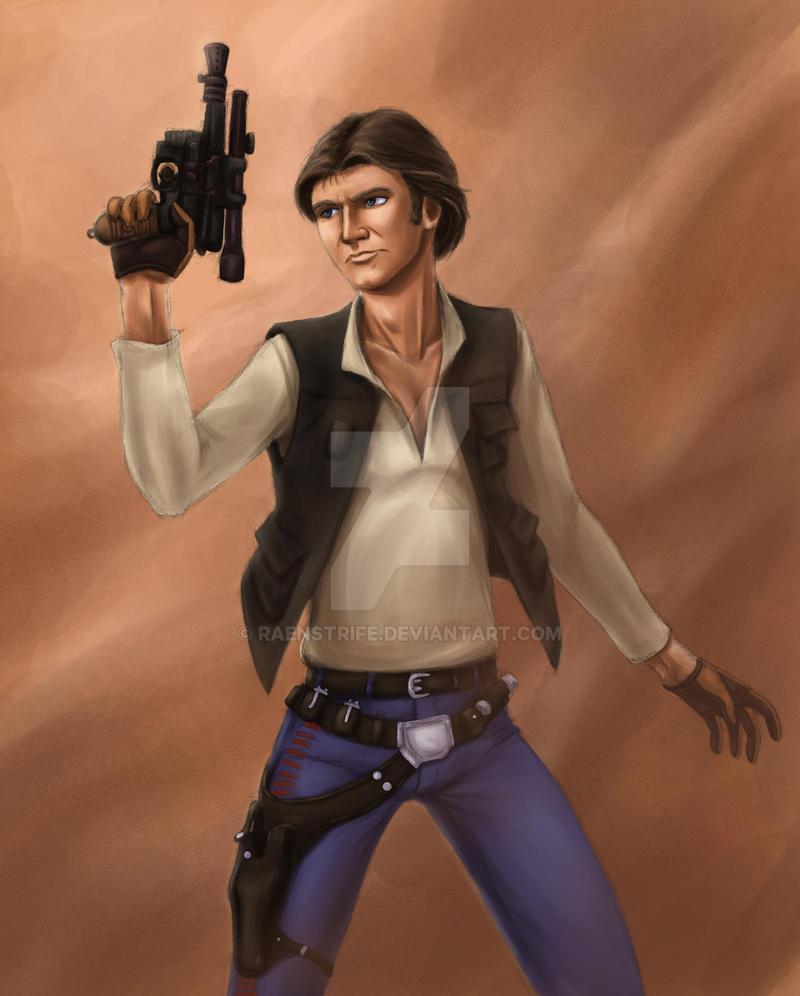 Star Wars: Go Solo by Raenstrife