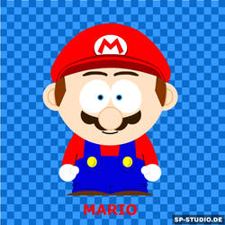 SP Style - SMB Mario by SuperToadsworth10DX