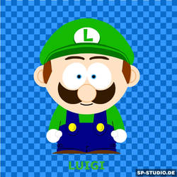 Luigi SP Style - Big by SuperToadsworth10DX