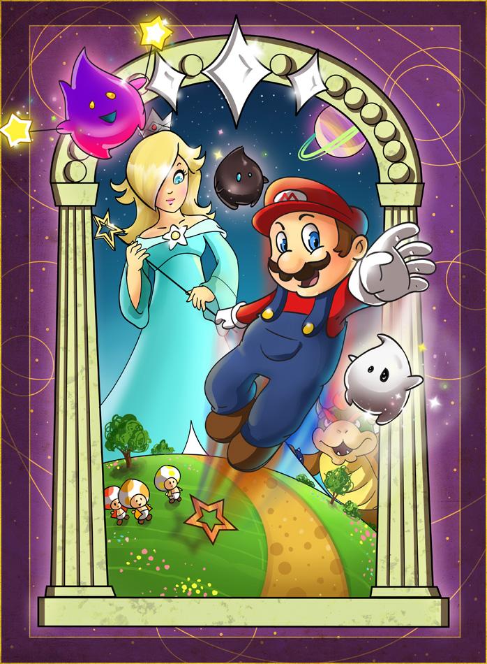 Mario Galaxy by ChemicalAlia