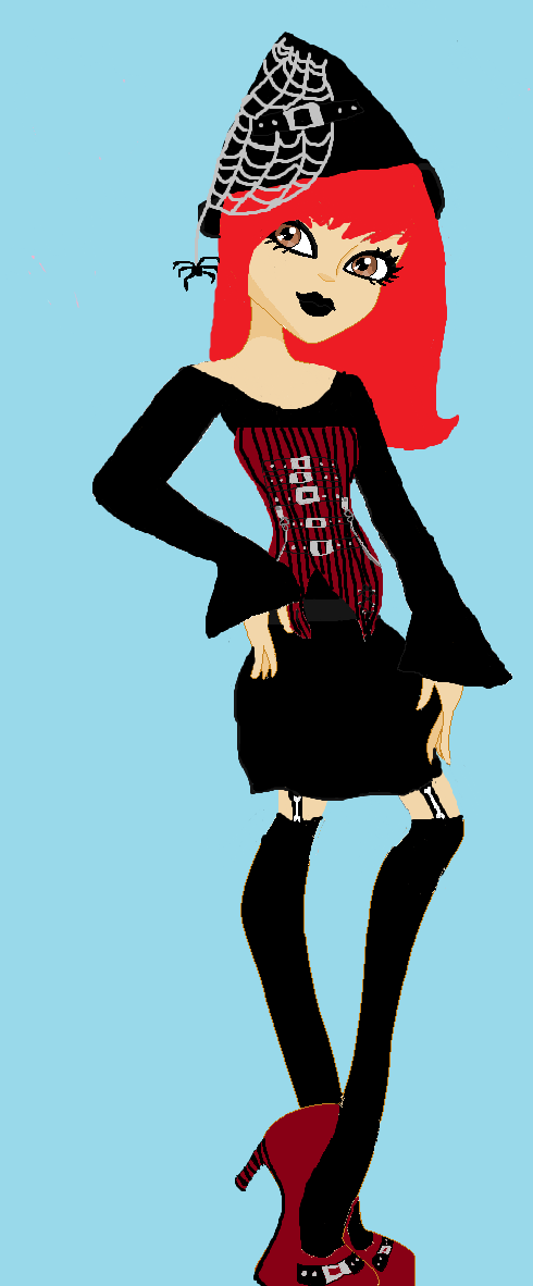 Monster High Oc Wendy Witch (new Look) by mekiki13