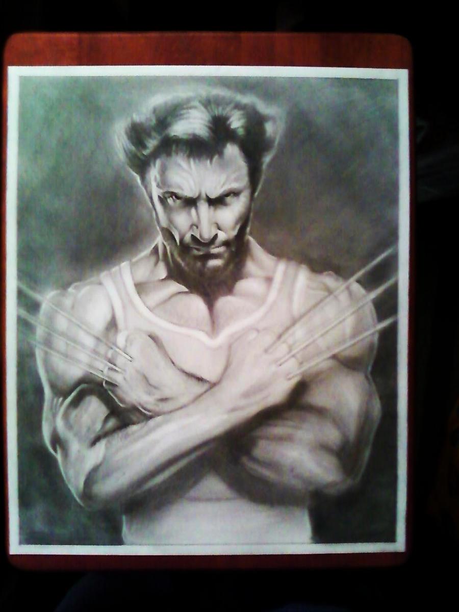 Wolverine hugh jackman by spdmngtruper