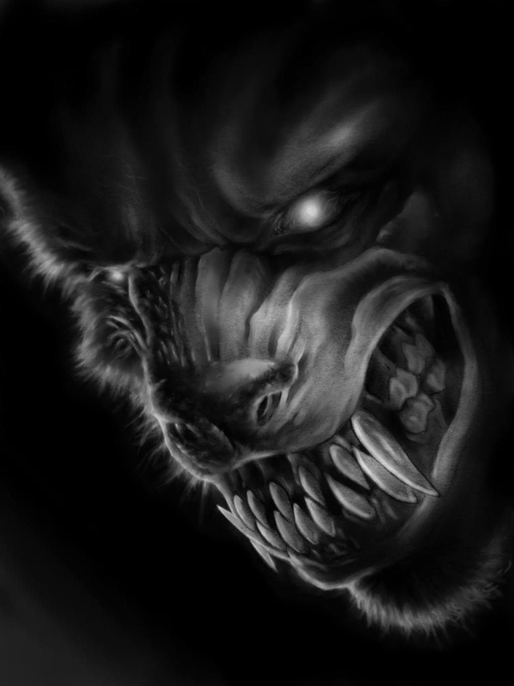 werewolf tattoo idea by spdmngtruper on DeviantArt