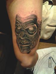 evil dead tat by spdmngtruper