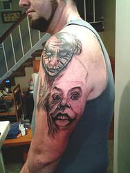 joker tatoo by spdmngtruper