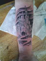 castle tattoo by spdmngtruper