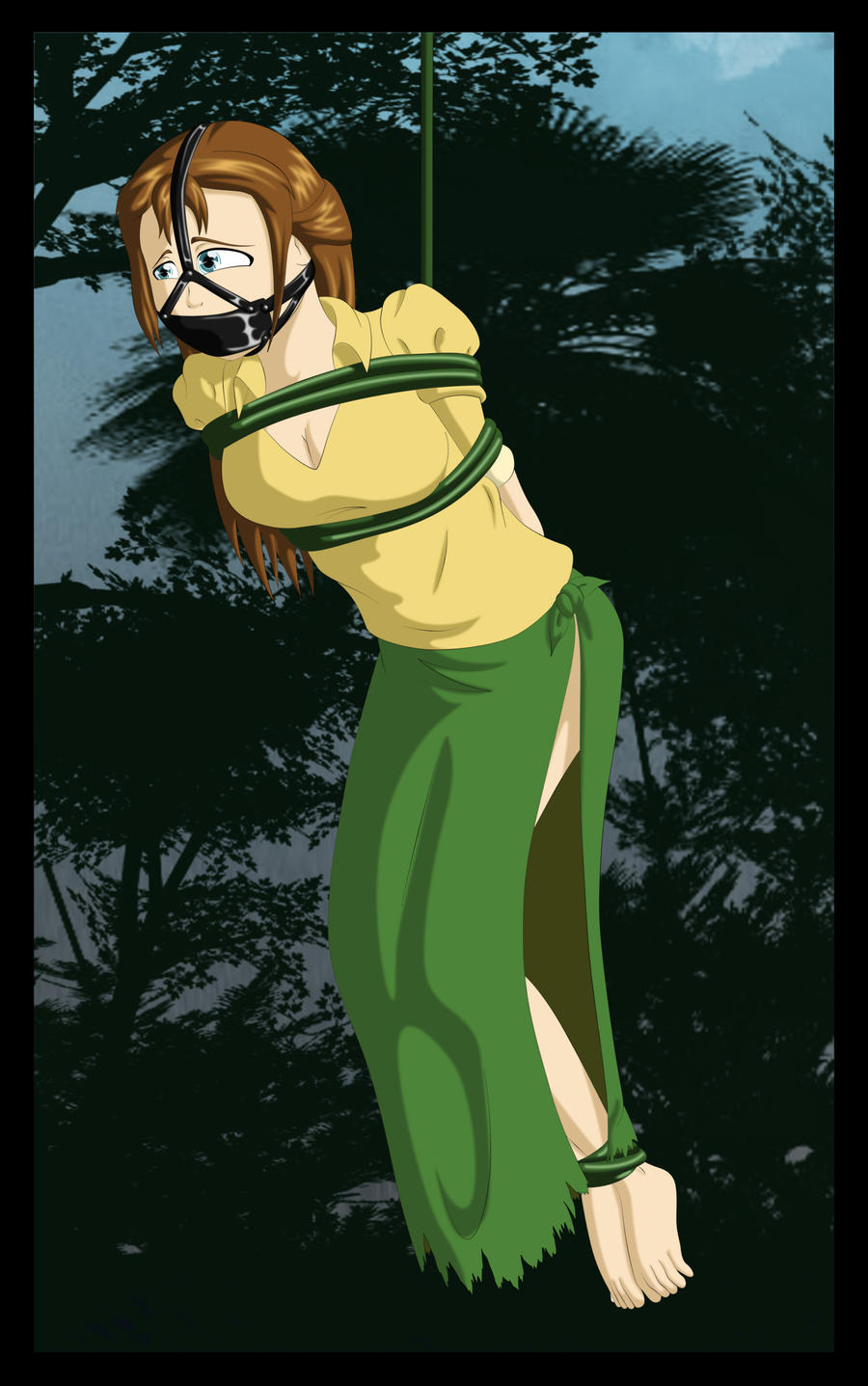 Jane Porter Panel Gag by kaozkaoz