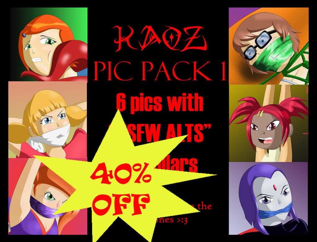 Kaoz Pic Pack 1 40% OFF by kaozkaoz