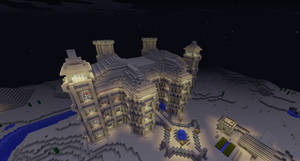 Minecraft Sand Castle #2 by Cosmic155