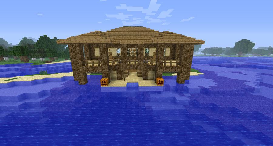 Minecraft Island House 1 By Cosmic155 On Deviantart