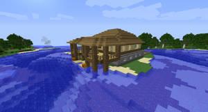 Minecraft Island House #2