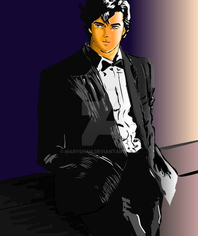 Ryo Saeba By Maryshan On Deviantart