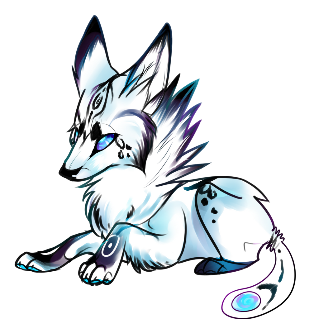 Baby Galaxy Wolf Aucti...