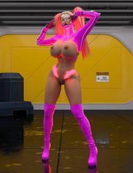 Pink Angel unwell? by akizz