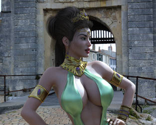 Fantasy Heroine 5 by akizz