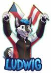 [C]Ludwig badge