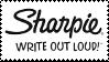 .:SHARPIE:. -Stamp by ChiiSpirit
