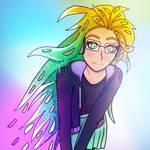 Zoe Cyberpop [LEAGUE OF LEGENDS FANART]
