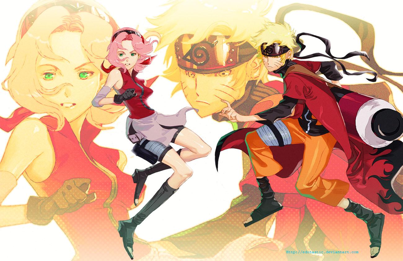 Naruto and Sakura 2010 by EdoTastic