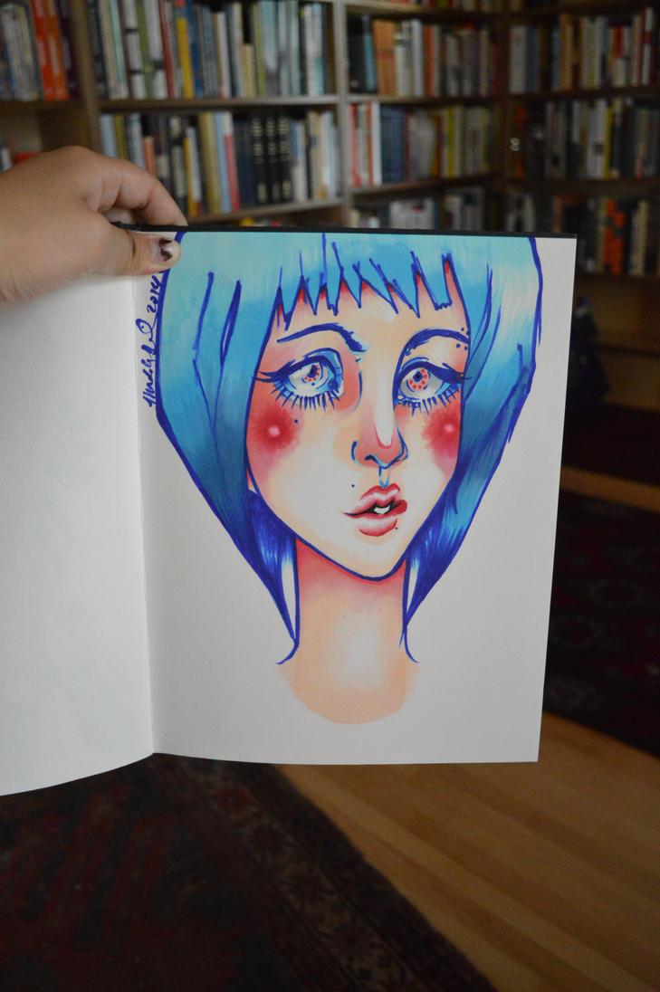 Blue Chick by Maddie6968