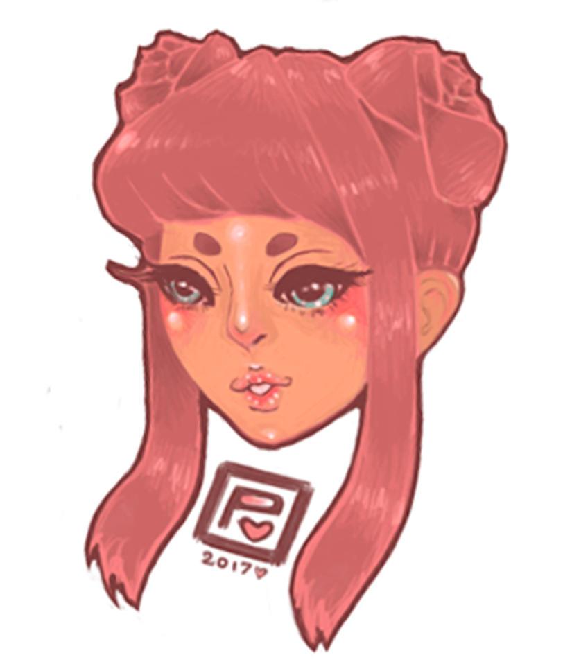 cute lil head practice by Maddie6968
