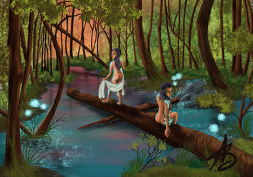The guardian and the swamp queen by ValiantVivica