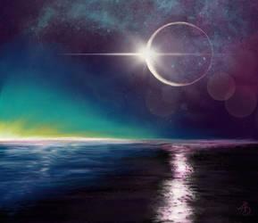 ocean eclipse by ValiantVivica