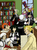 Tea-Time in the Black Order by Neko-Animel