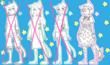 Male Adoptables (OPEN) by royalhighmess