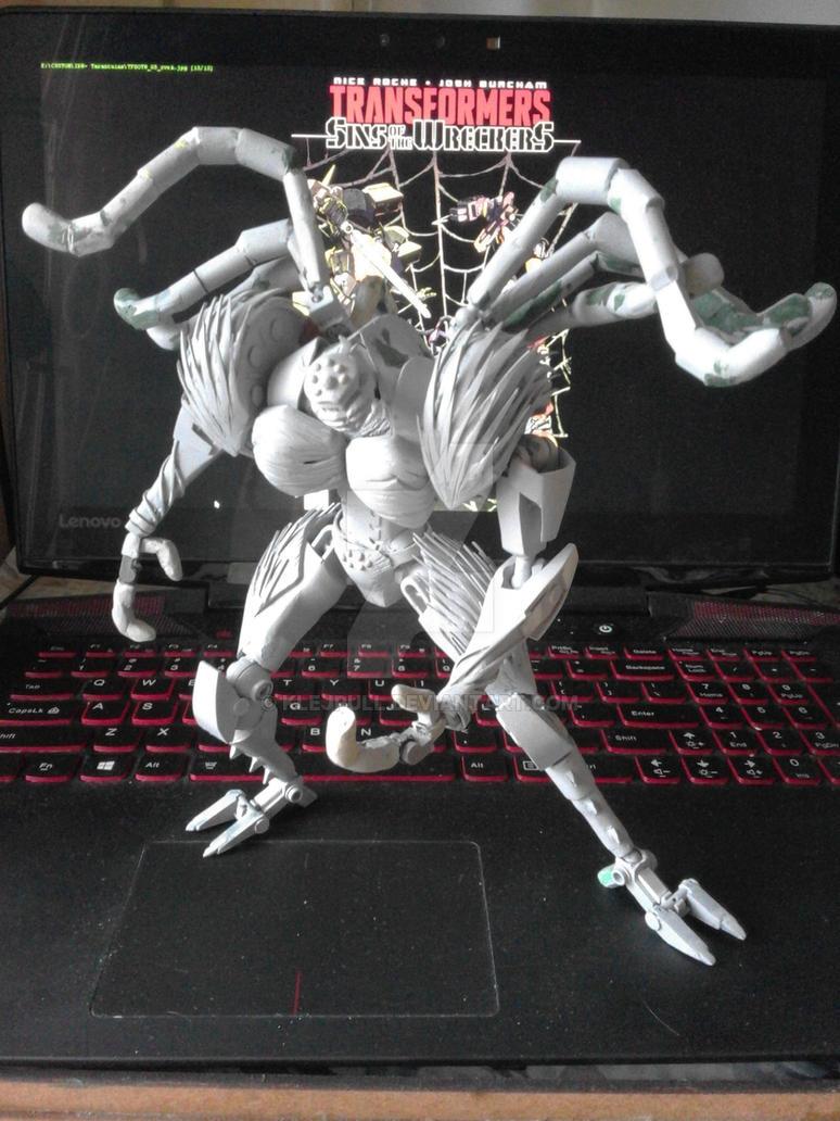 Tarantulas replica WIP 2 by Klejpull