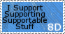I Support Supportable Stuff by Blemy