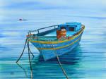 Greek boat at Sitia