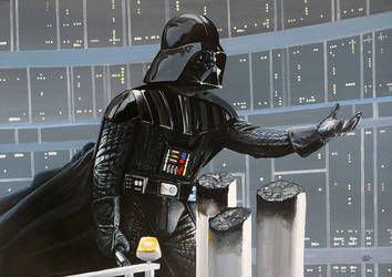 Darth Vader - I am your father by Lord-Makro