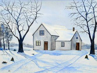 Blue winter by Lord-Makro