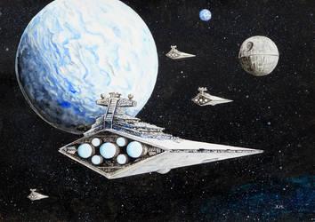The fleet arrives by Lord-Makro