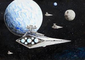 The fleet arrives